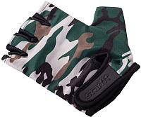 Перчатки для фитнеса Starfit SU-126 (S, хаки) -