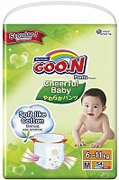 Подгузники-трусики детские Goo.N Сheerful Baby M (54шт) -