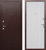 Входная дверь Юркас Dominanta Белый ясень (96x205, правая) -