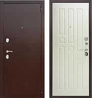 Входная дверь Юркас Гарда 8мм Белый ясень (96x205, правая) -