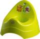 Детский горшок Maltex Дино / 6005 (зеленый) -