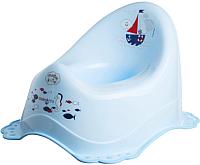 Детский горшок Maltex Океан / 5436 (голубой) -