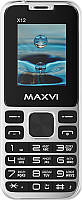 Мобильный телефон Maxvi X12 (Metallic silver) -