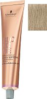 Крем-краска для волос Schwarzkopf Professional BlondMe Bond Enforcing Blonde Superlift пепельный (60мл) -