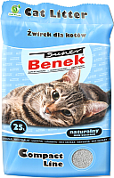 Наполнитель для туалета Super Benek Compact (25л) -