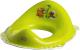 Детская накладка на унитаз Maltex Дино / 5961 (зеленый/белый) -