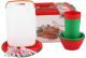 Набор пластиковой посуды Полимербыт 80940-80940 -