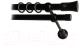 Карниз для штор Lm Decor Гиро 071 2р гладкий 25/19мм (черный матовый, 2.4м) -