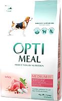 Корм для собак Optimeal Medium Adult с индейкой (4кг) -