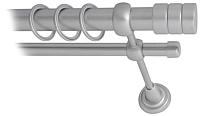 Карниз для штор Lm Decor Цилиндр 088 2р гладкий 25/16мм (сатин, 3.6м) -