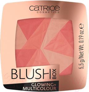 Румяна Catrice Blush Box Glowing + Multicolour тон 010