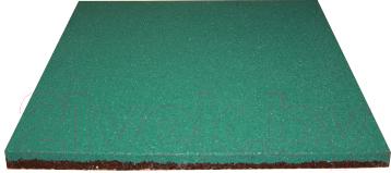 Резиновая плитка Ecoslab 500x500x16 (зеленый)