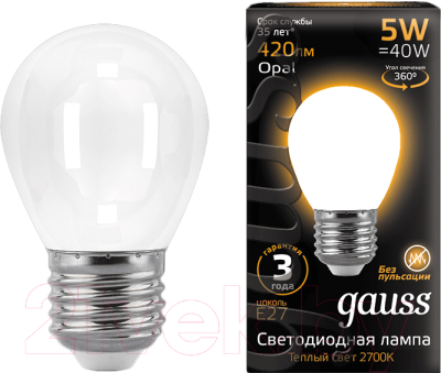 Лампа Gauss 105202105