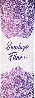 Коврик для йоги и фитнеса Sundays Fitness Niagara IR97567 -