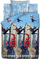 Комплект постельного белья Непоседа Человек Паук Neon. Городские герои / 555691 -