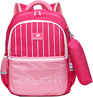 Школьный рюкзак Sun Eight Полосы SE-2715 (розовый) -