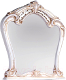 Зеркало Мебель-КМК Розалия 0456.5 (белый/золото) -