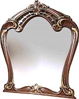 Зеркало Мебель-КМК Розалия 0456.5 (орех экко) -