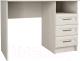 Письменный стол Астрид Мебель Принцесса / ЦРК.ПРН.02 (анкор белый) -
