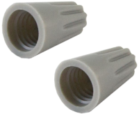Изолирующий зажим TDM SQ0519-0006 (50шт, серый) -
