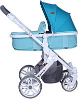 Детская универсальная коляска Lorelli Luna 2 в 1 Aquamarine / 1002080174 -