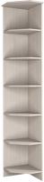 Угловое окончание для шкафа Астрид Мебель Принцесса / ЦРК.ПРН.05 (анкор белый) -