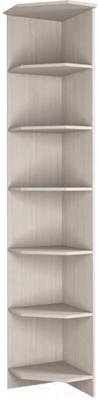 Угловое окончание для шкафа Астрид Мебель Принцесса / ЦРК.ПРН.05 (анкор белый)