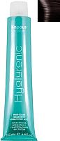 Крем-краска для волос Kapous Hyaluronic Acid с гиалуроновой кислотой 5.8 (светлый коричневый шоколад) -