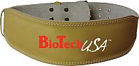 Пояс для пауэрлифтинга BioTechUSA Austin 2 / CIB000575 (XL, бежевый) -