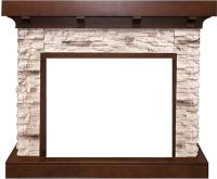 Портал для камина Royal Flame Chalet под Vision 28/Vision 30 (сланец/темный дуб) -