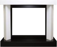 Портал для камина Royal Flame Vancouver под Sym 26/Dior 28/Jup (белый/черный) -