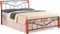 Двуспальная кровать Signal Parma (160x200, античная черешня) -