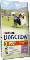 Корм для собак Dog Chow Mature Adult с ягненком (14кг) -
