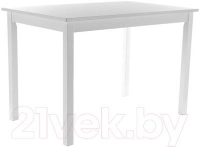 Обеденный стол Signal Fiord 110x70 (белый)