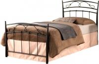 Односпальная кровать Signal Siena 90x200 (черный) -