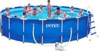 Каркасный бассейн Intex Metal Frame / 28252/56952 (549x122) -