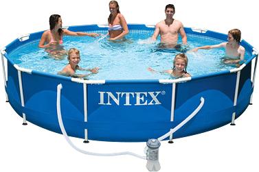 Каркасный бассейн Intex Metal Frame / 56996/28212 (366x76) - Общий вид