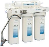 Фильтр питьевой воды АкваОсмос АО 4 С PP 5 + GAC + ИОС + Т 33 -