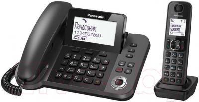 Беспроводной телефон Panasonic KX-TGF310RUM