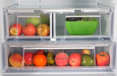 Холодильник с морозильником Hotpoint-Ariston E4DG AAA X O3