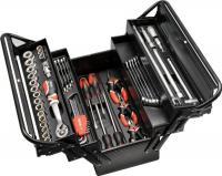 Универсальный набор инструментов Yato YT-3895 (62 предмета) -