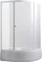 Душевой уголок Avanta 122/2 L (серое стекло) -