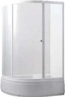 Душевой уголок Avanta 122/2 R (серое стекло) -