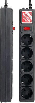 Сетевой фильтр Power Cube SPG-B-15 Black - общий вид