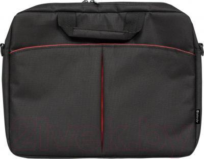 Сумка для ноутбука Defender Iota 26007 (черный) - общий вид