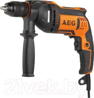 Профессиональная дрель AEG Powertools SBE 705 RE (4935442830) - общий вид