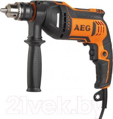 Профессиональная дрель AEG Powertools SBE 750 RZ (4935442840) - общий вид