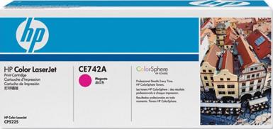 Картридж HP CE743A - общий вид
