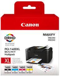 Картридж Canon PGI 1400XL BK/C/M/Y (9185B004AA)