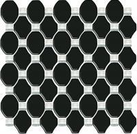Мозаика Ceramika Paradyz Secret Nero (298x298) -